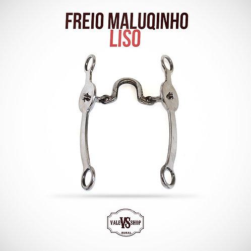 FREIO MALUQUINHO LISO, BOCAL ALTO