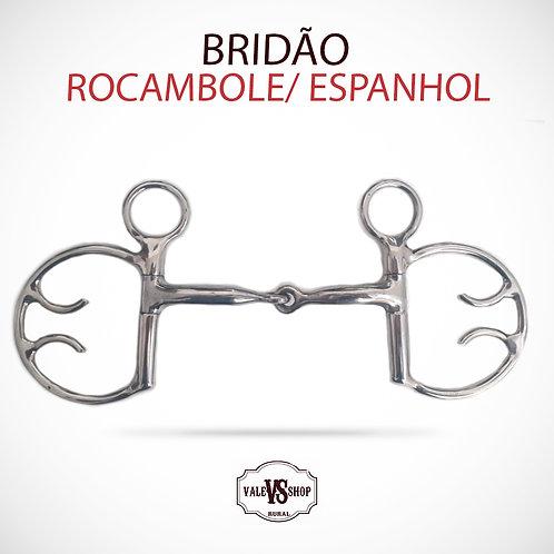 Freio Bridão Espanhol/ Rocambole