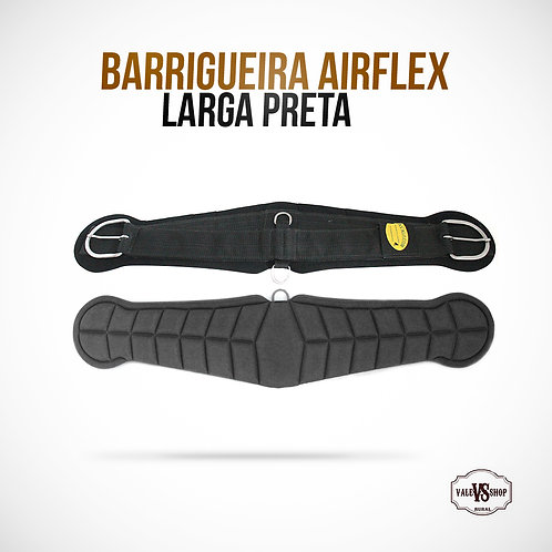 Barrigueira Airflex Larga Preta