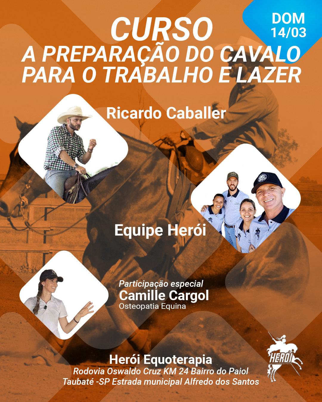 Curso A Preparação do cavalo