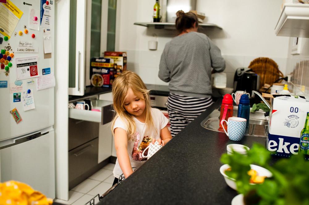 Morning kitchen