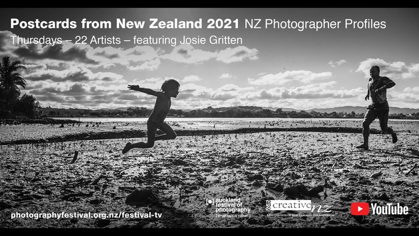 Josie Gritten Postcards From NZ - Auckland Festival of Photography 2021