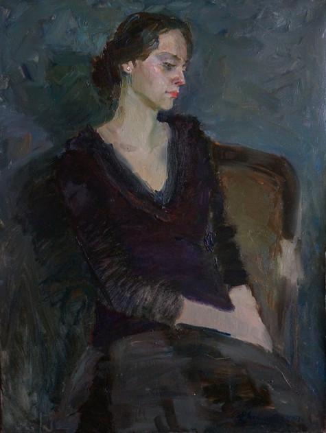 portrait of Polina