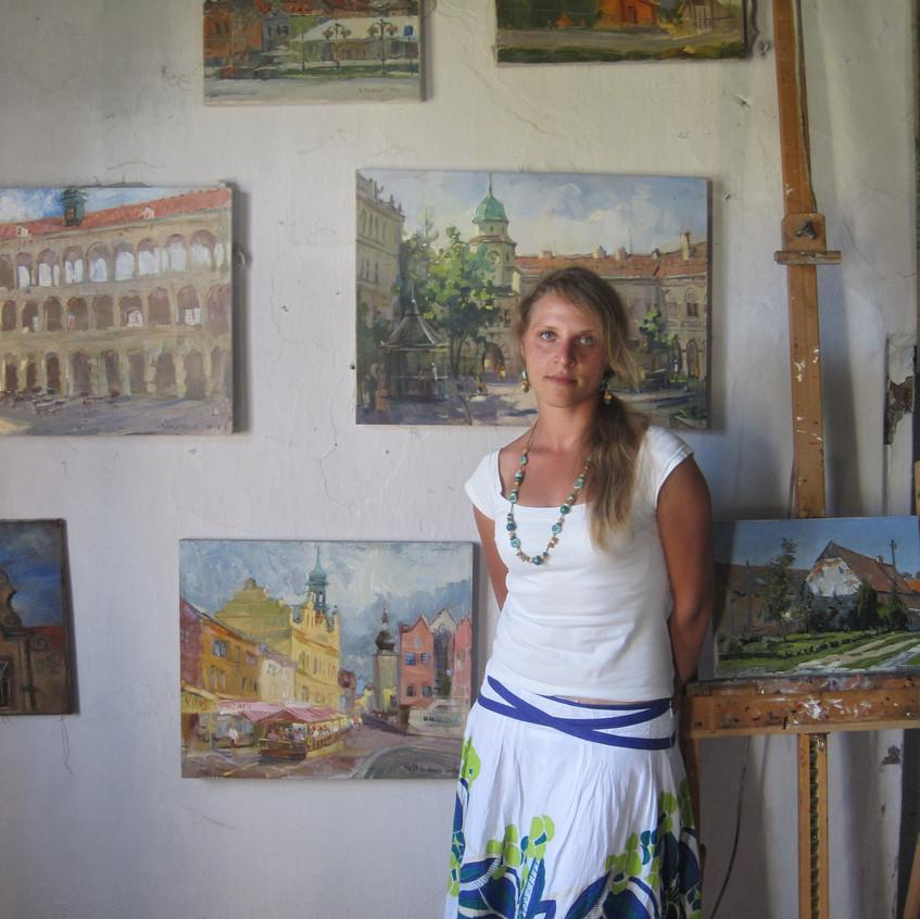 """plein air """" Venkov """" 2012"""