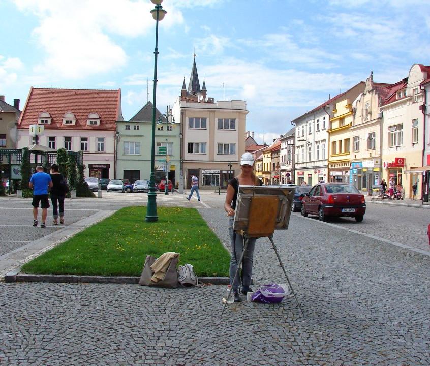 """plein air """" Venkov """"2012 Vysoké Mýto"""