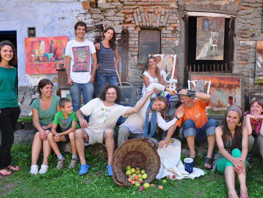 """plein air """" Venkov """"2012"""