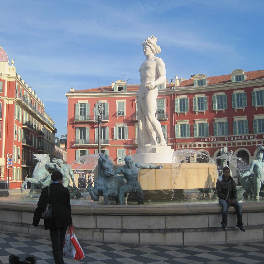 plein air SLAVianski Nice France