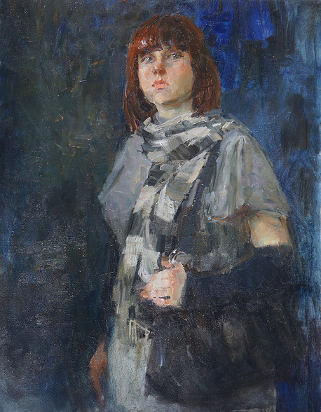 Portrait of young miss