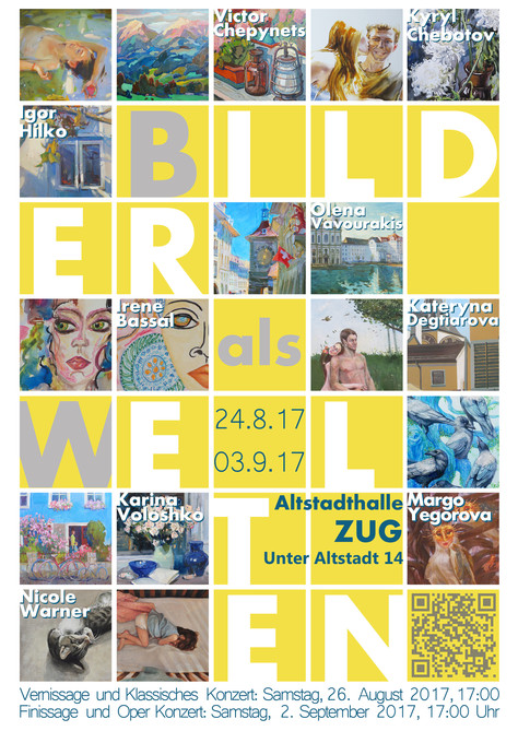 """Exhibition """"Bilder als Welten"""" - """"ARTworks as Worlds"""""""