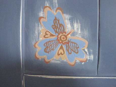 art on the furniture