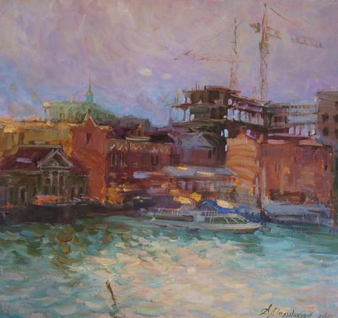 Kiev riverside