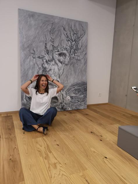 """Tree of life"" by Olena Vavourakis for Pilates Zug"