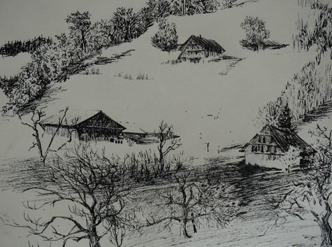 Winter in Morgarten