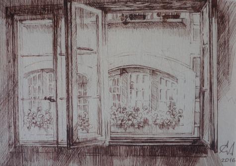 Window to Altstadt