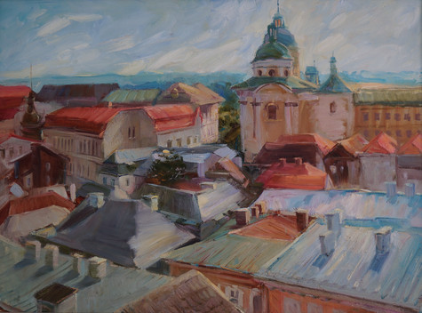Red roofs of Litomysl