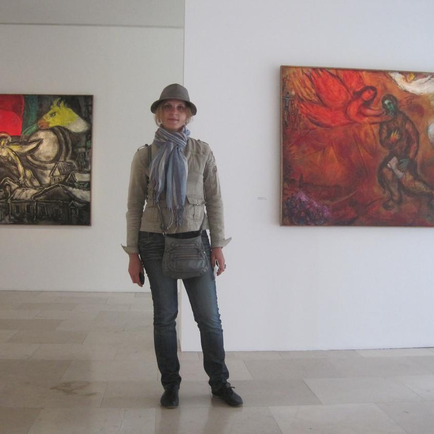 plein air SLAVianski  Chagall museum