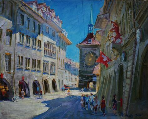 Summer shadows of Bern