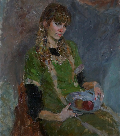 Portrait of Marishka