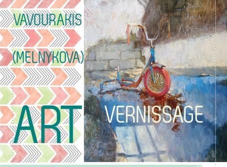 """ART  Vernissage """"Reise zur Farbe"""""""