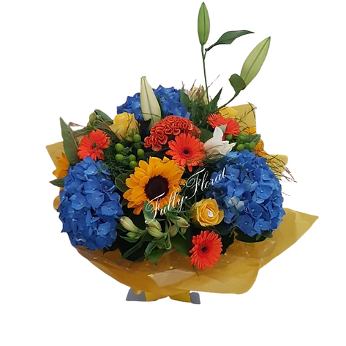Addison Aqua Bouquet