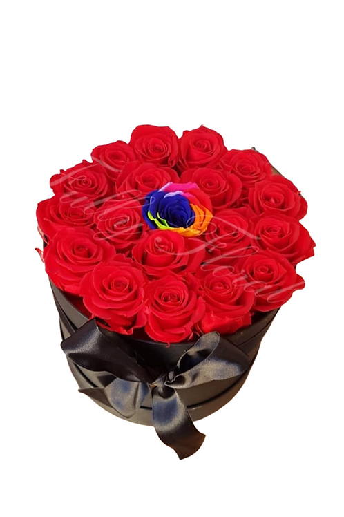 Magical Passion Preserved Roses