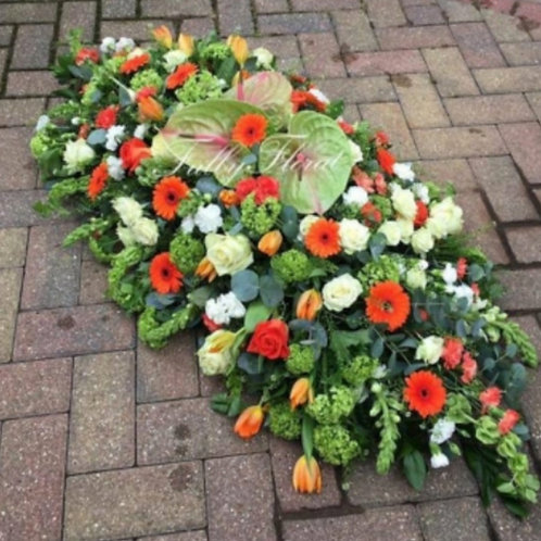 Irish Themed Coffin Spray