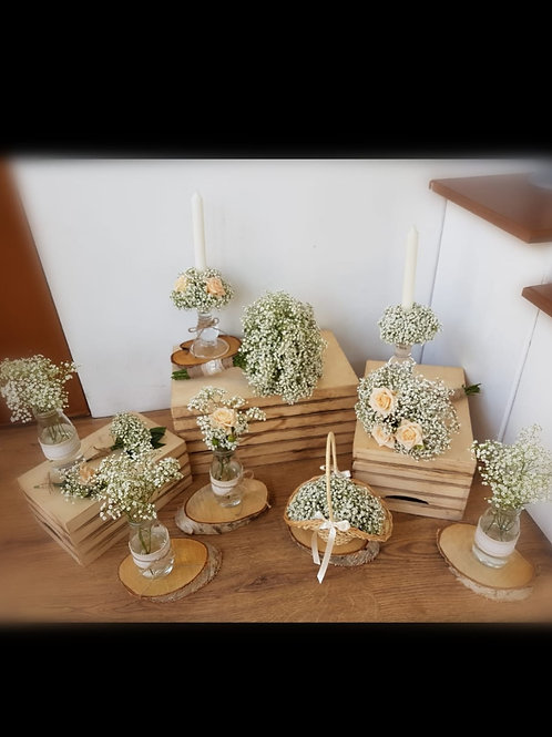 Bespoke Wedding Arrangment