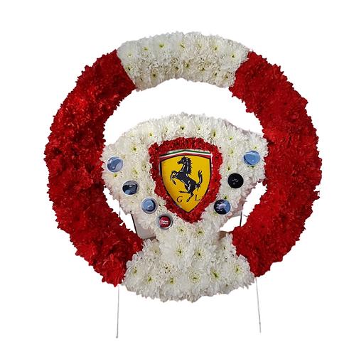 Porche Steering wheel tribute