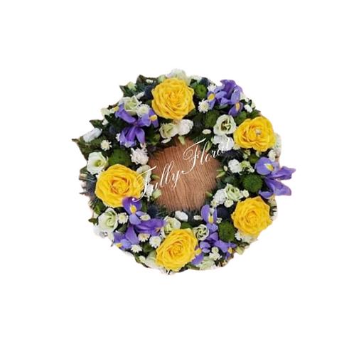 Iris Wreath
