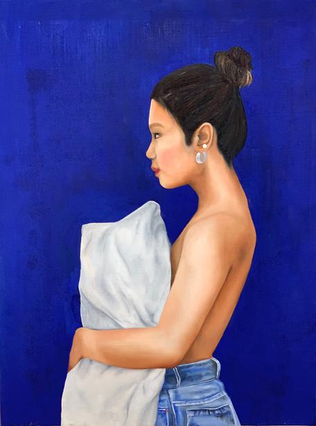 Portrait of an Asian Girl in London