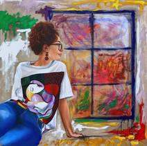 Portrait of an Italian Girl in London