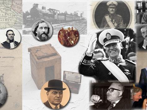 Los cuatro períodos de la historia Argentina