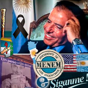 Carlos Menem, diez años de paz y estabilidad