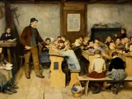 La educación en el año XIII