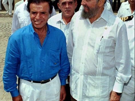 Conversando con Menem: una anécdota sobre Fidel Castro