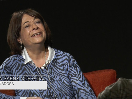 Reportaje a la historiadora María Sáenz Quesada