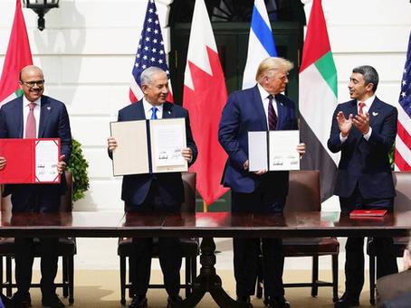 Los acuerdos de paz entre Israel y EAU y Bahrein vistos en perspectiva histórica