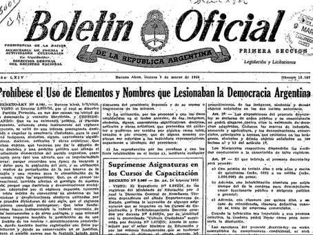 13 de noviembre de 1955: el día que se profundizó la grieta entre peronistas y antiperonistas
