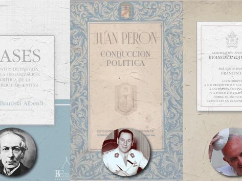 Alberdi, Perón, Bergoglio