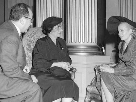 El día que Golda Meir visitó a Perón y Evita