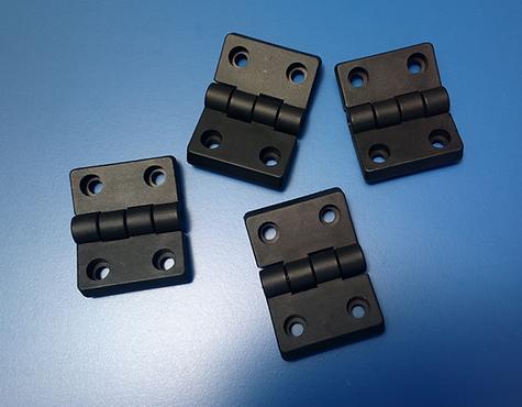 Bisagras de plástico compatibles con perfil Bosch 40x40 perfil Bosch 45x45