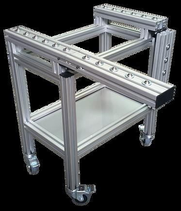 Estaciones de trabajo perfil de aluminio