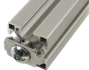 Compatible con perfil de aluminio Bosch 40x40