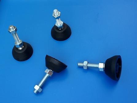 Niveladores con base PA compatibles con perfiles Bosch Rexroth ®