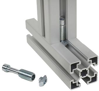 Perfil de aluminio Bosch Accesorios Estaciones de trabajo