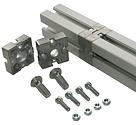 Estaciones detrabajo perfil de aluminio compatible Bosch