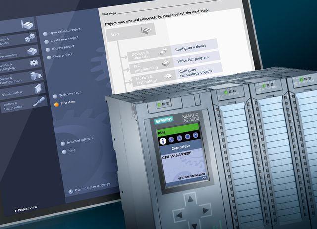 TIA Advance with Siemens SIMATIC