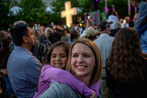 Dallas First Baptist Palm Sunday March For Eternal Life