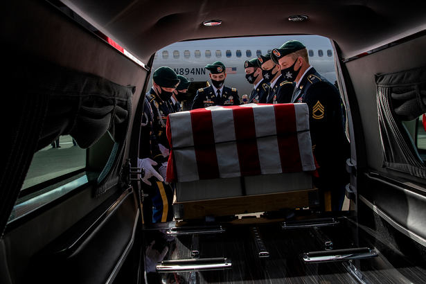 MOH Bennie G. Adkins Dignified Transfer