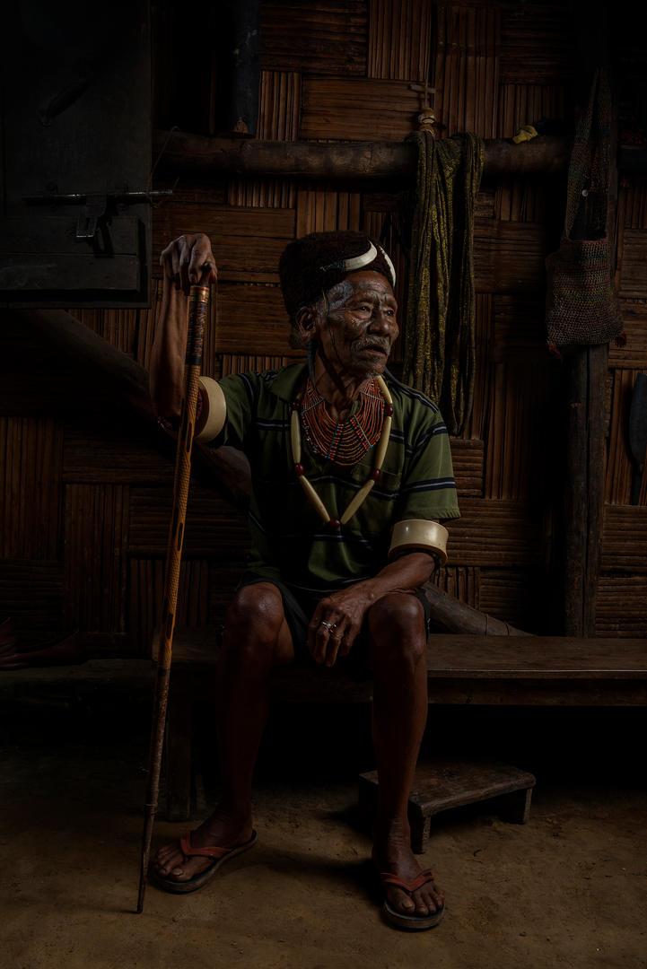 KONYAK TRIBE, THE HEADHUNTERS OF NAGALAND